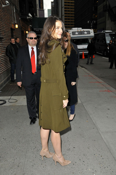 More Pics of Katie Holmes Wool Coat (4 of 14) - Katie Holmes Lookbook - StyleBistro