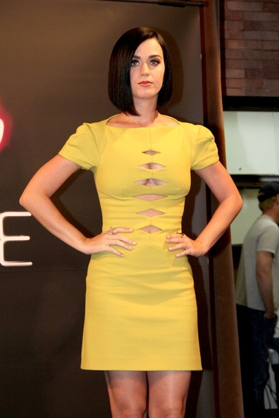 Katy Perry Cutout Dress
