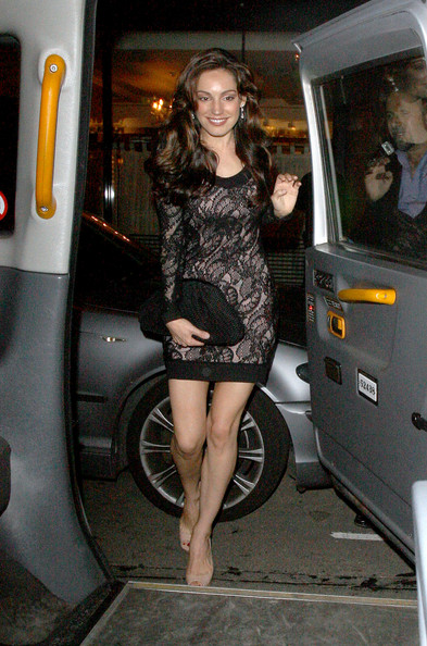 Kelly Brook Leather Clutch