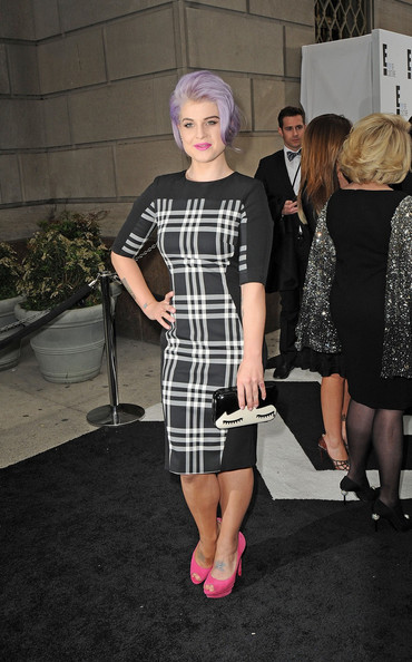 Kelly Osbourne Peep Toe Pumps