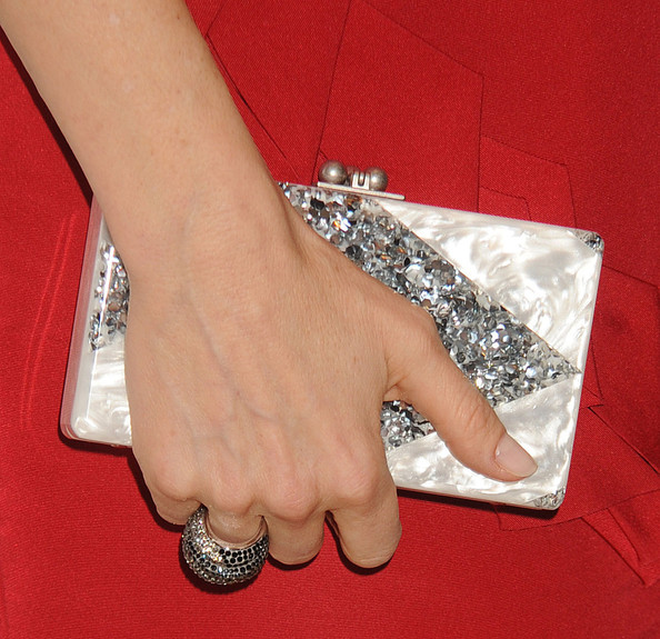 Kelly Rutherford Hard Case Clutch []