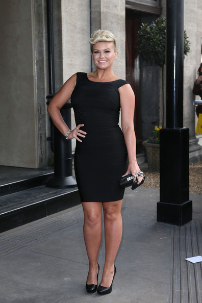 Kerry Katona Little Black Dress