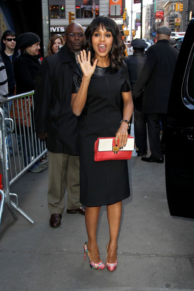 More Pics of Kerry Washington Pumps (1 of 17) - Kerry Washington Lookbook - StyleBistro