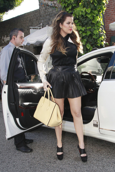 Khloe Kardashian Mini Skirt