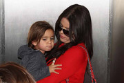 Mason Disick and Khloe Kardashian Photo