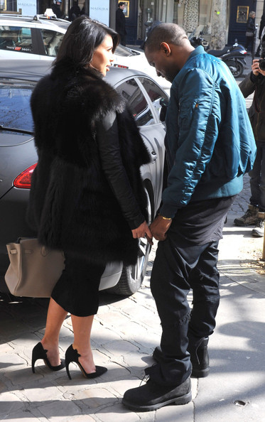 More Pics of Kim Kardashian Fur Coat (2 of 11) - Kim Kardashian Lookbook - StyleBistro