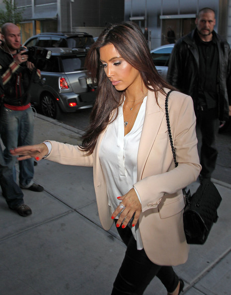 Kim Kardashian Red Nail Polish