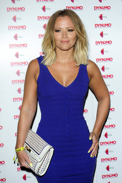 Kimberley Walsh Leather Clutch
