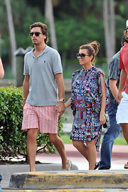 Preppy pieces—like this Ralph Lauren shirt—are the hallmarks of Scott Disick's handsome style.