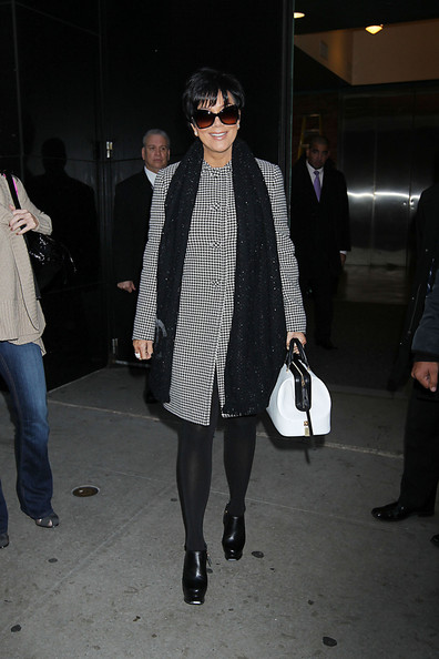 Kris Jenner Ankle Boots