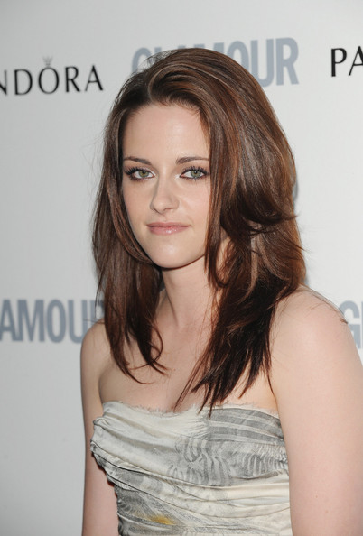 Kristen Stewart Layered Cut