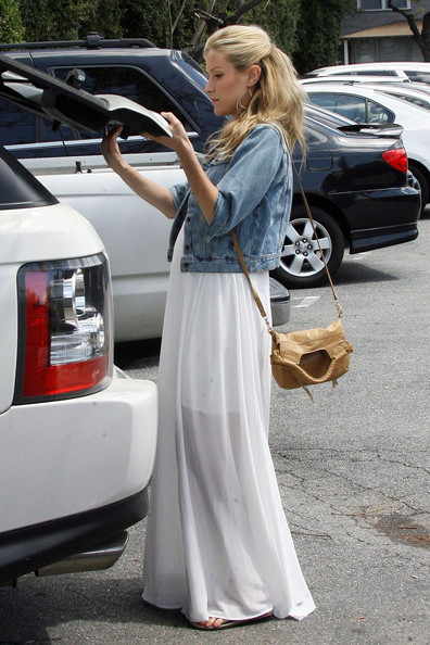 Kristin Cavallari Leather Shoulder Bag