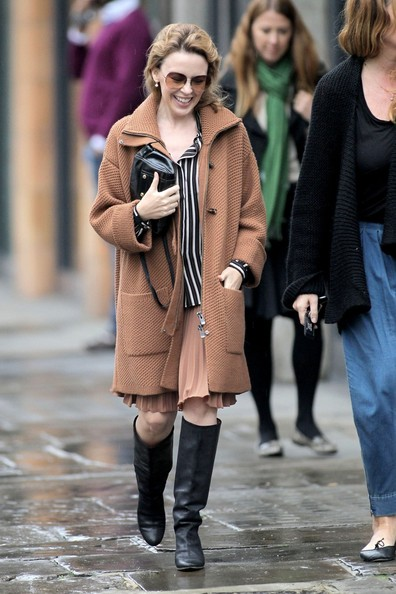 Kylie Minogue Knee High Boots