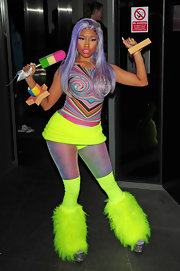 You can never accuse Nicki Minaj of not having fun with her clothes!