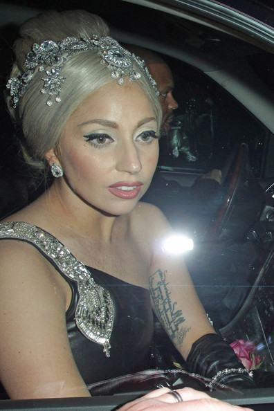 Lady Gaga Diamond Studs