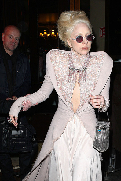 Lady Gaga Metallic Purse