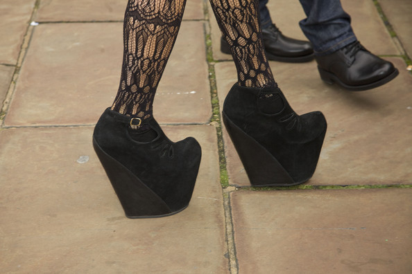 Lady Gaga Platform Pumps