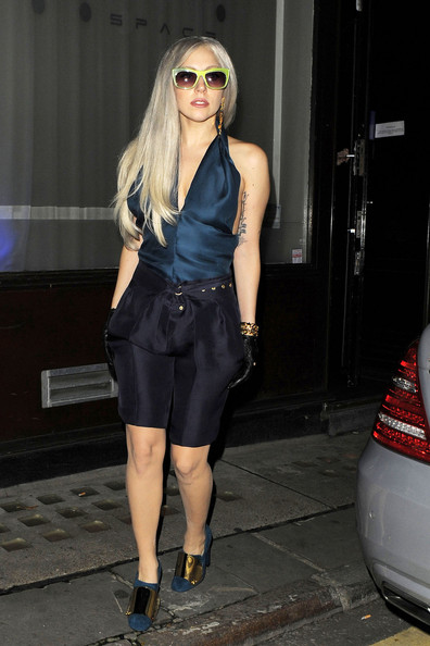 Lady Gaga Long Shorts