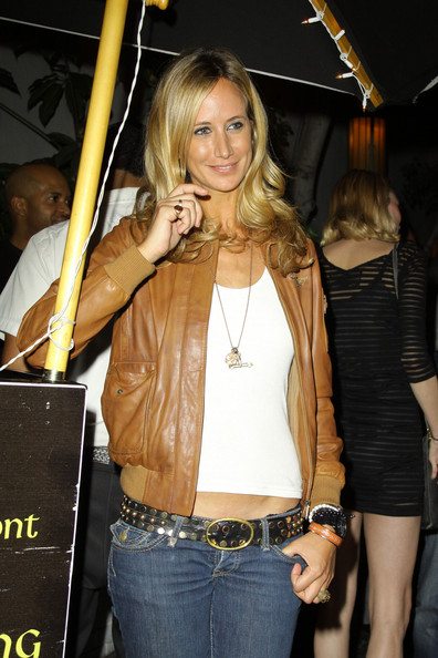 Lady Victoria Hervey Leather Jacket