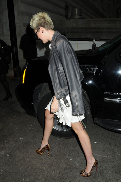 More Pics of Miley Cyrus Cocktail Dress (1 of 7) - Miley Cyrus Lookbook - StyleBistro