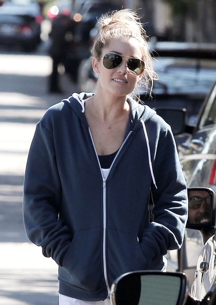 Lauren Conrad Aviator Sunglasses