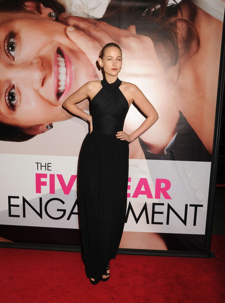 Leelee Sobieski Evening Dress