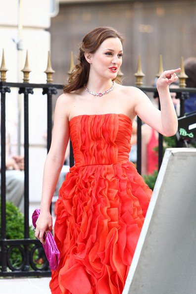 Leighton Meester Diamond Collar Necklace