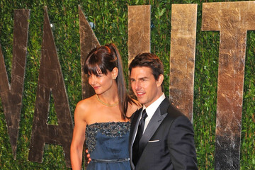Katie Holmes Tom Cruise Celebs at the 2012 Vanity Fair Oscar Party