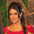 Salma Hayek's Long Braid