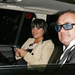 Damien Hirst and Lily Allen