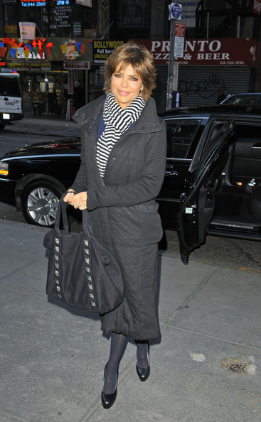 Lisa Rinna Down Jacket