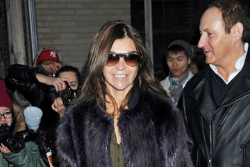 Carine Roitfeld Alexander Wang Celebs at Pier 94 in NYC