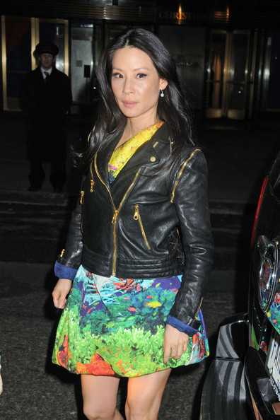 Lucy Liu Stops by the Jimmy Fallon Show