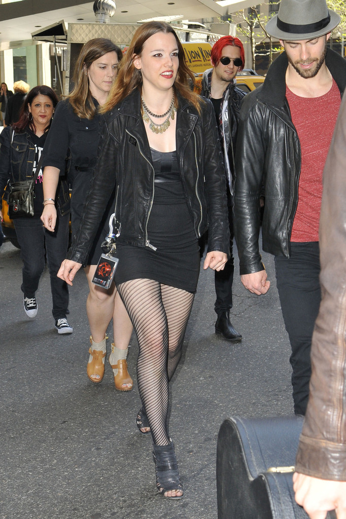 More Pics Of Lzzy Hale Leather Jacket 8 Of 15 Lzzy