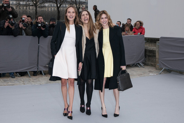 Arrivals at the Christian Dior Fall-Winter 2013 Ready-to-Wear Show in Paris