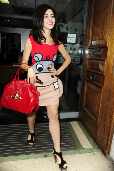 Marina Diamandis Patent Leather Tote