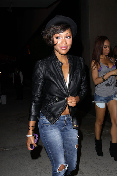 Meagan Good Bowler Hat