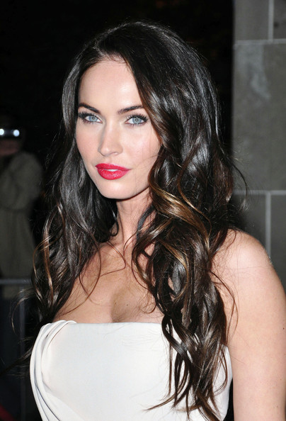 lipstick red Megan fox
