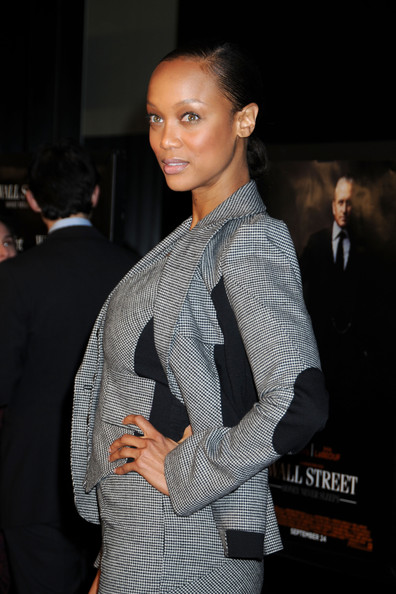 More Pics of Tyra Banks Skirt Suit (1 of 8) - Tyra Banks Lookbook - StyleBistro