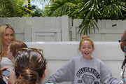 Leticia Cyrus and Noah Cyrus Photo