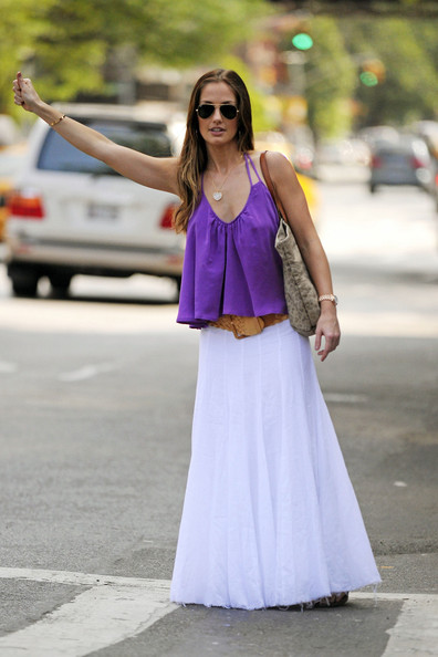 Minka Kelly Long Skirt