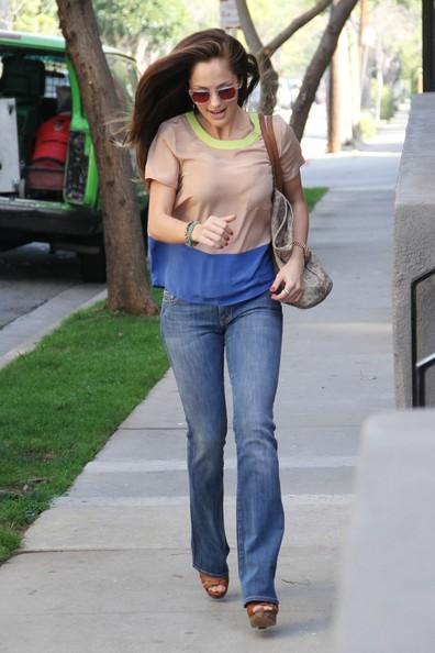 Minka Kelly T-Shirt