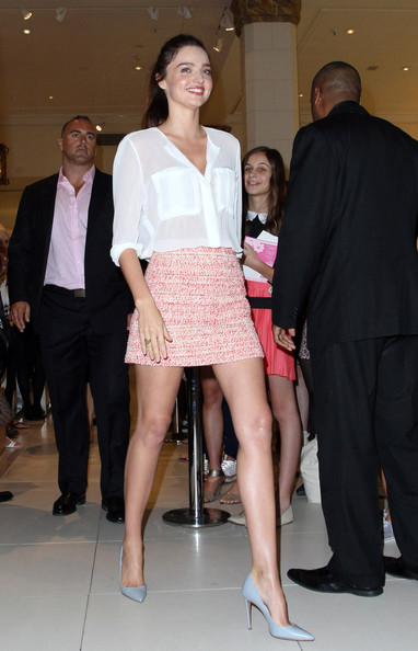Miranda Kerr Mini Skirt