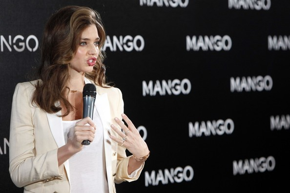 More Pics of Miranda Kerr Gold Nameplate Necklace (1 of 23) - Miranda Kerr Lookbook - StyleBistro