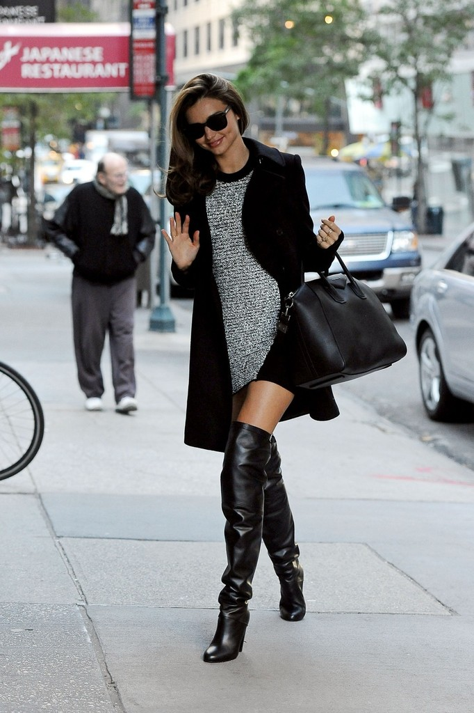 More Pics Of Miranda Kerr Over The Knee Boots 3 Of 16