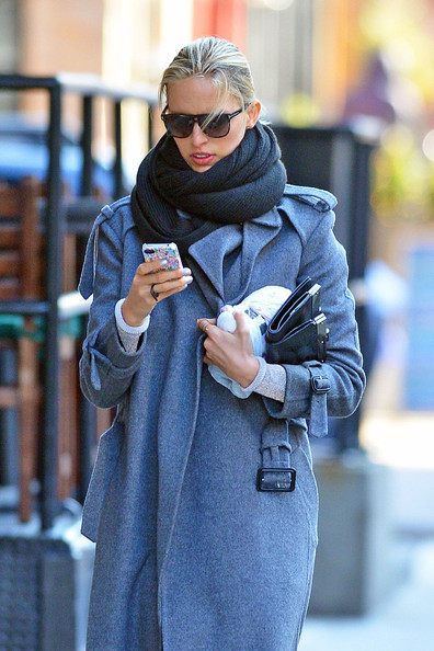 More Pics of Karolina Kurkova Wool Coat (4 of 5) - Karolina Kurkova Lookbook - StyleBistro
