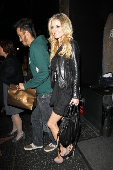 More Pics of Marisa Miller Leather Jacket (1 of 11) - Marisa Miller Lookbook - StyleBistro