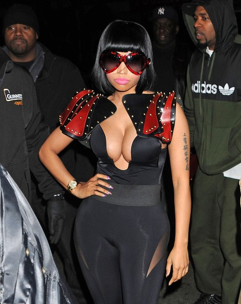 More Pics of Nicki Minaj Evening Pumps (2 of 9) - Nicki Minaj Lookbook - StyleBistro