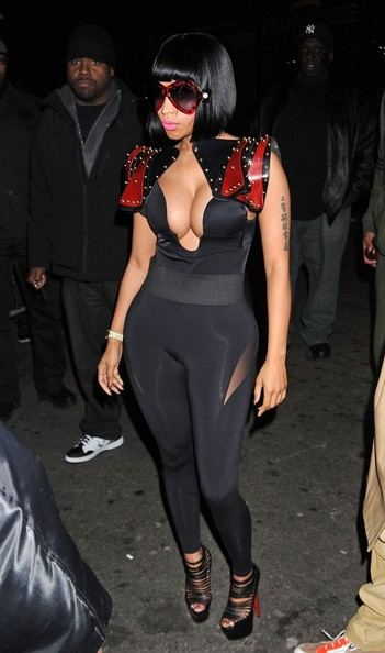 More Pics of Nicki Minaj Jumpsuit (5 of 9) - Jumpsuit Lookbook - StyleBistro