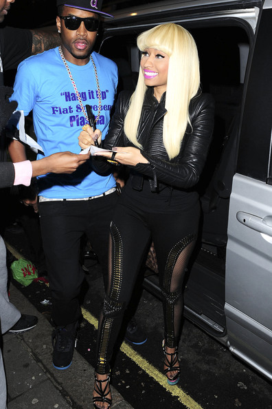 More Pics of Nicki Minaj Platform Sandals (1 of 36) - Nicki Minaj Lookbook - StyleBistro